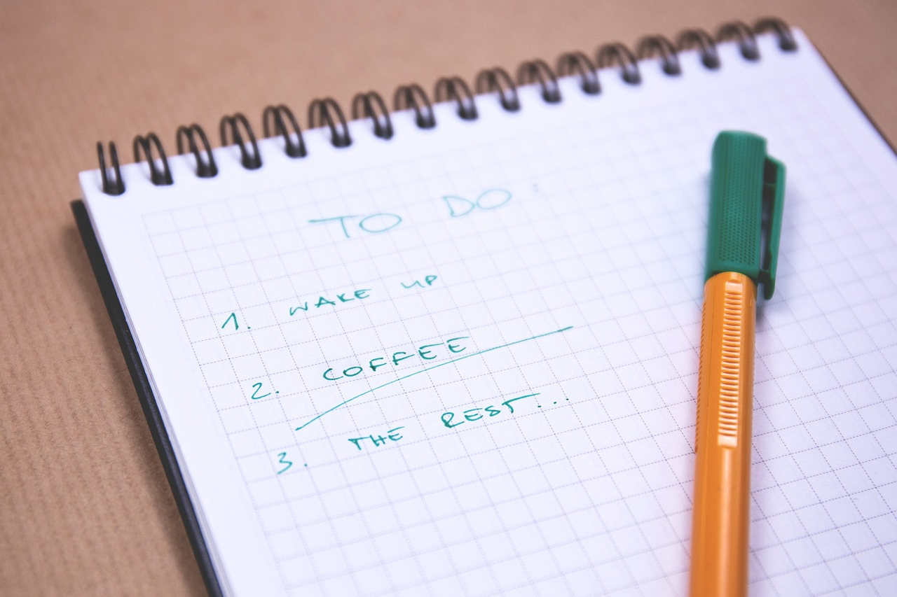 To-Do list to have a productive day